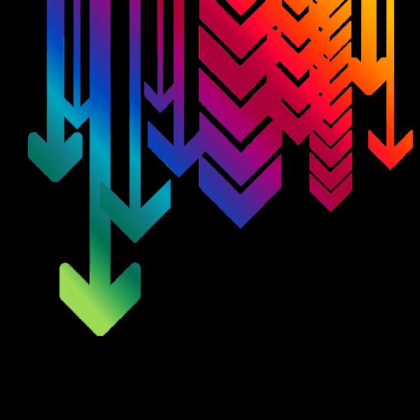 multiple-arrows-down-transparent